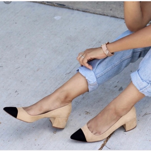 8da5bc04acc Zara cap toe block heels. M 5b4d8bb9aa8770ccdfc11473